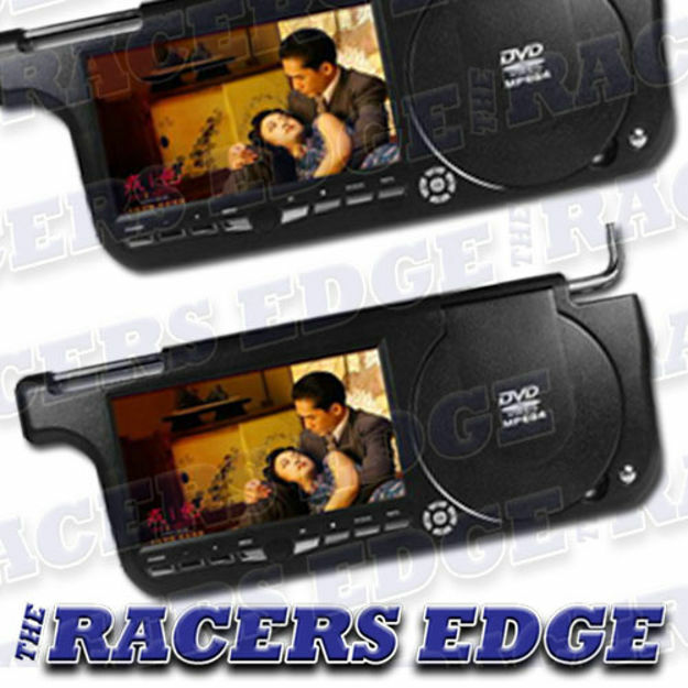 Picture of 7 Inch TFT Sunvisor DVD Screen with Player (Black)