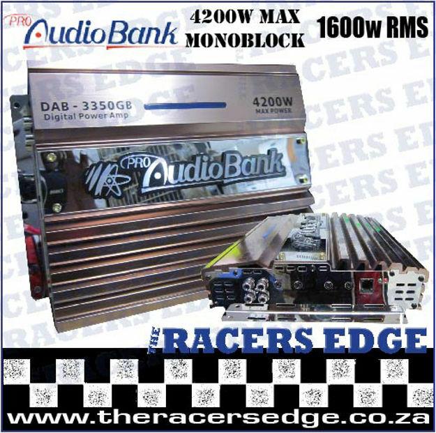 Picture of Audio Bank Amplifier - 4200w Monoblock