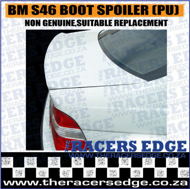Picture of BM S46 Boot Spoiler (PU) - M Style