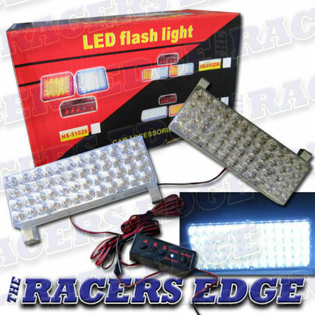 Picture of LED FLASH LITE KIT (STROBE LIGHTS) - Super White