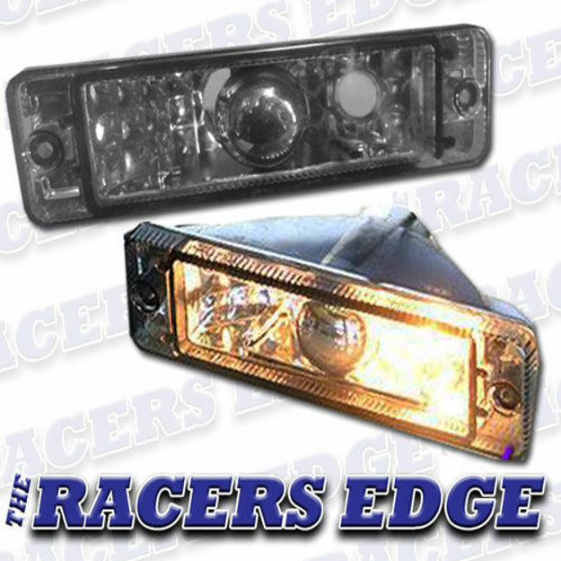 Picture of VW Golf 1 Bumper Indicator - ABM Style (Smoked)