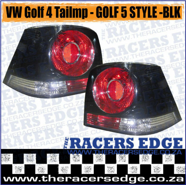 Picture of VW Golf 4 Tailamps - G5 Style - Black