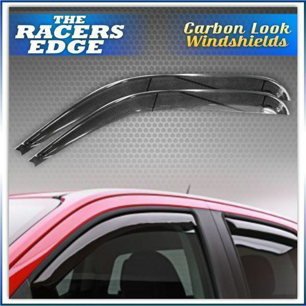Picture of Nissan Hardbody 98 Wind-shield Carbon Fibre Look (Front)