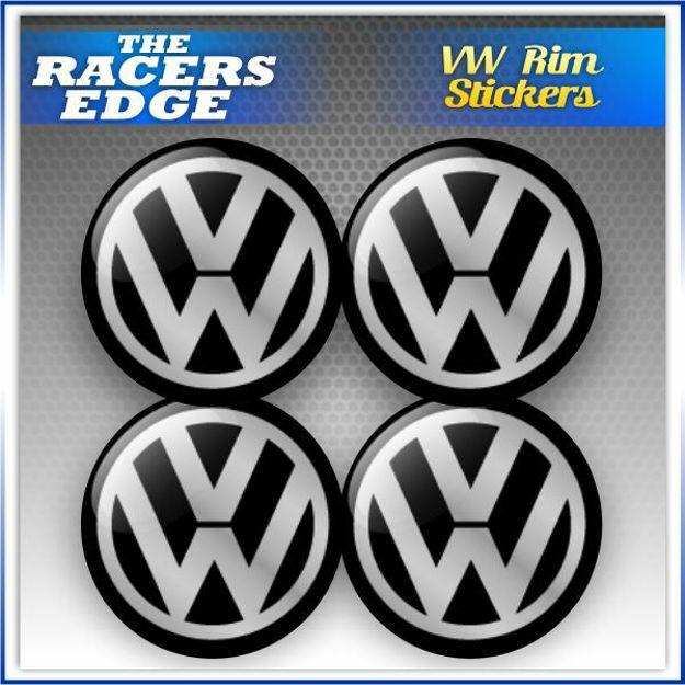 Picture of VW Rim Sticker Set (5.6cm)