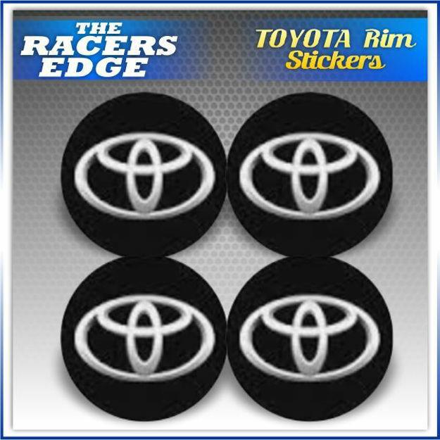 Picture of TOYOTA Rim Sticker Set (6.5cm)