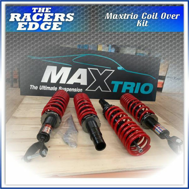 Picture of MAXTRIO Coil Over Kit - Toyota Corolla E10  (Height Adjustable W/ Dampeners)
