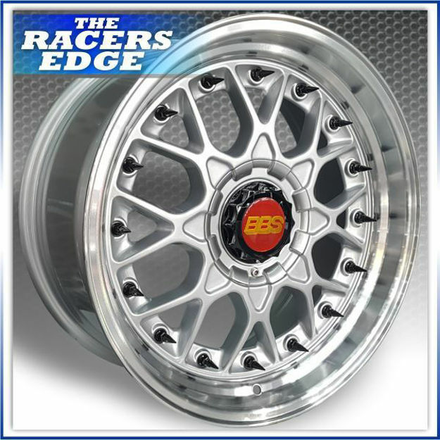 """Picture of 17"""" BBS ESA Reps (5x100/112 - Silver with Black Rivets)"""