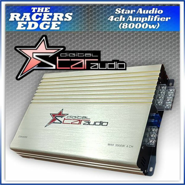 Picture of Star Audio 4 Channel (B4080-8000W)