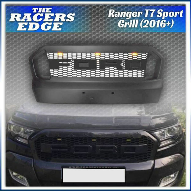 Picture of Ford Ranger T7 Sport Grille with LED (2015+)