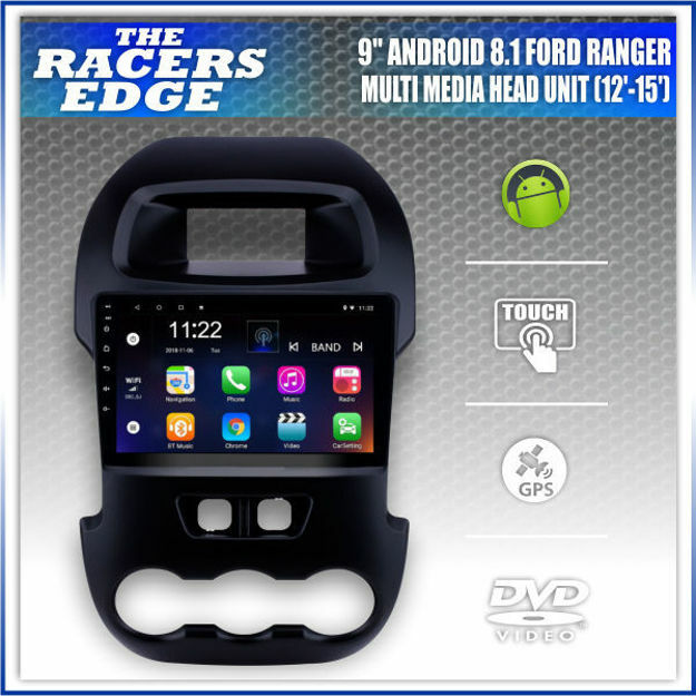 "Picture of Ford Ranger T6 9"" Double Din Sat Nav Unit  (12'-15')"