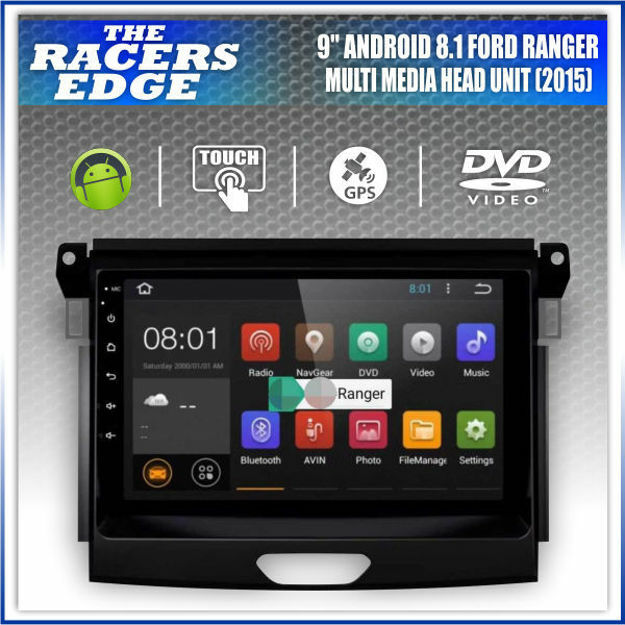"Picture of Ford Ranger T7 9"" Double Din Sat Nav Unit  (2015+)"