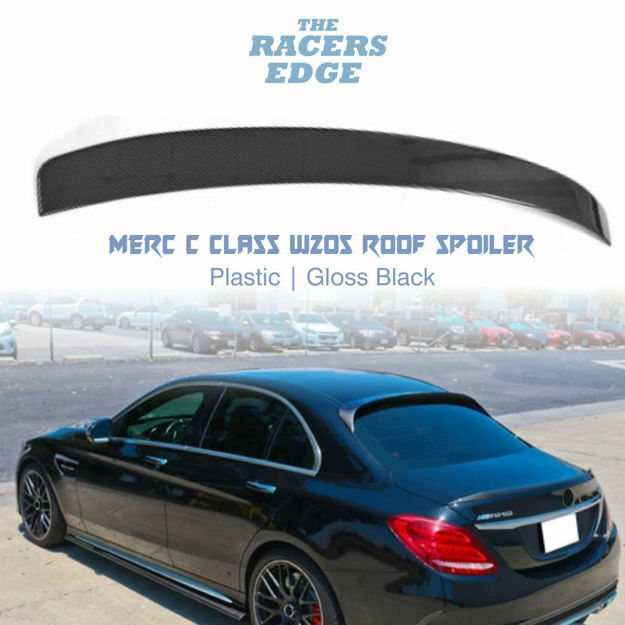 Picture of Merc W205 Roof spoiler - Gloss Black
