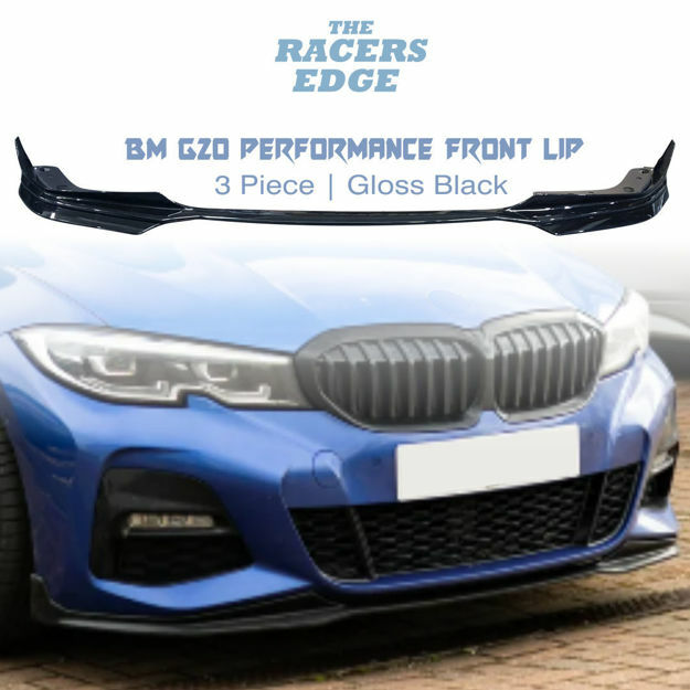 Picture of BM SG20 3 Piece Performance Front Lip - Gloss Black
