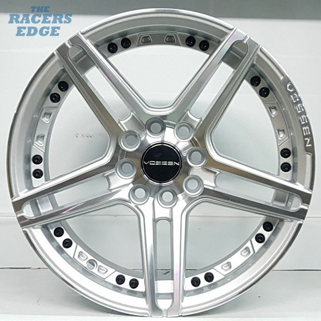 Picture of 15 inch Vossen 1134 - 4x100/108 - Silver