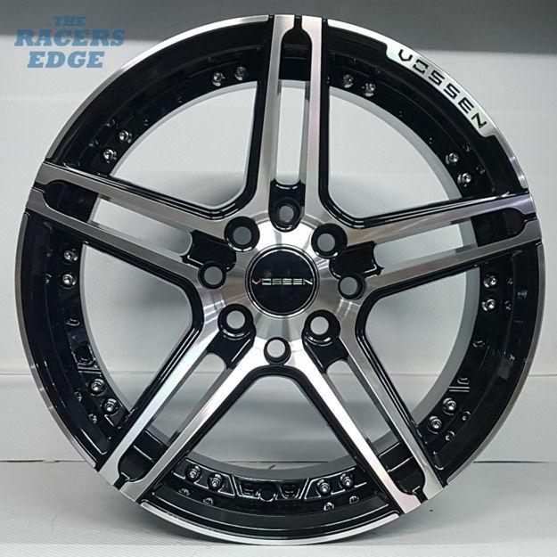 Picture of 15 inch Vossen 1134 - 4x100/114 - Black