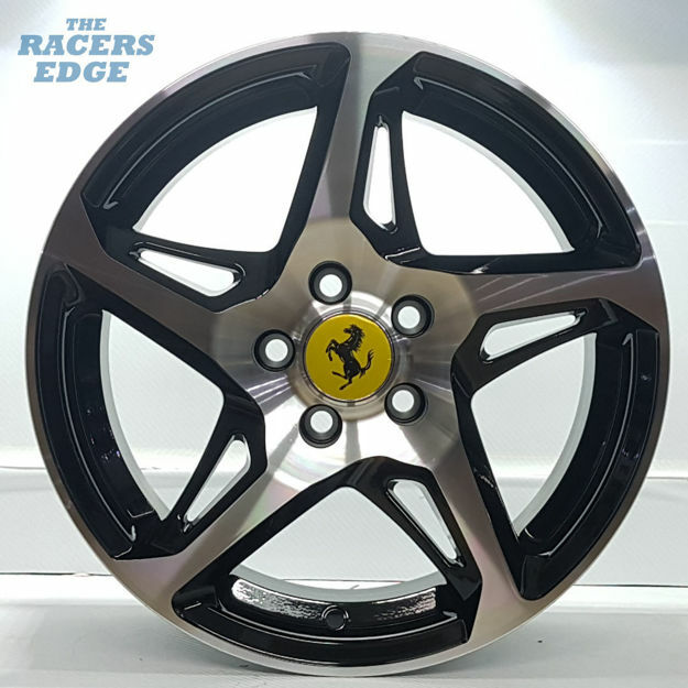 Picture of 15 inch 458 Reps - 5x100 - Black