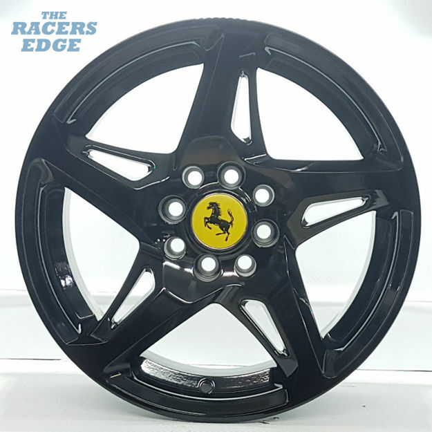 Picture of 15 inch 458 Reps - 4x100/108 - Gloss Black