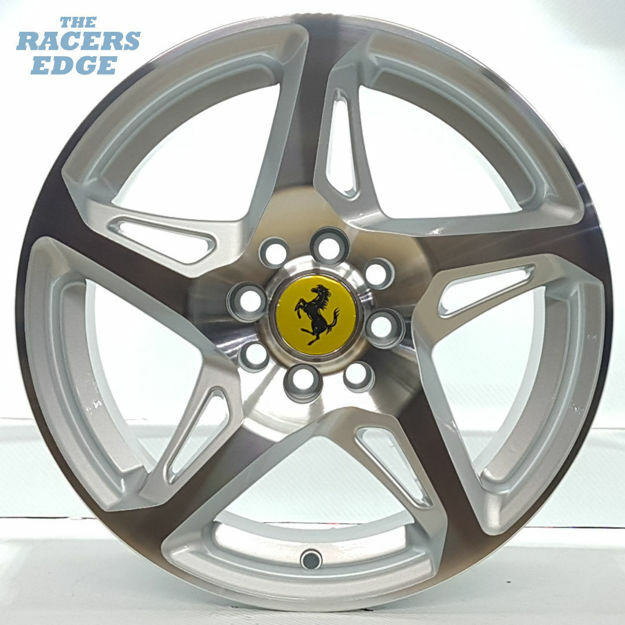 Picture of 15 inch 458 Reps - 4x100 - Silver