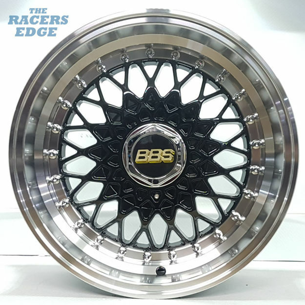 Picture of 15 inch BBS 2 - Step - 4x100/114 - Black