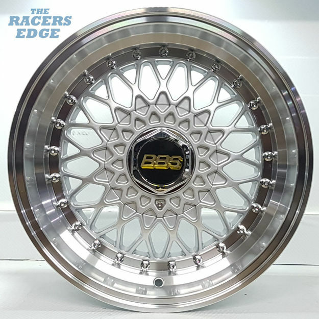 Picture of 15 inch BBS 2 Step - 5x100/114 - Silver