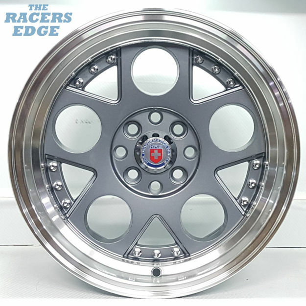 Picture of 15 inch HRE Lambo Reps - 4x100/108 - Gunmetal