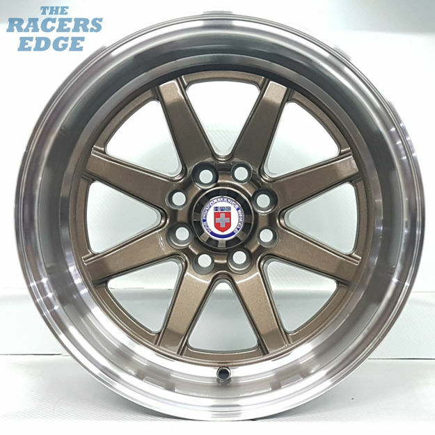 Picture of 15 inch HRE RB1 - 4x100/108 - Bronze
