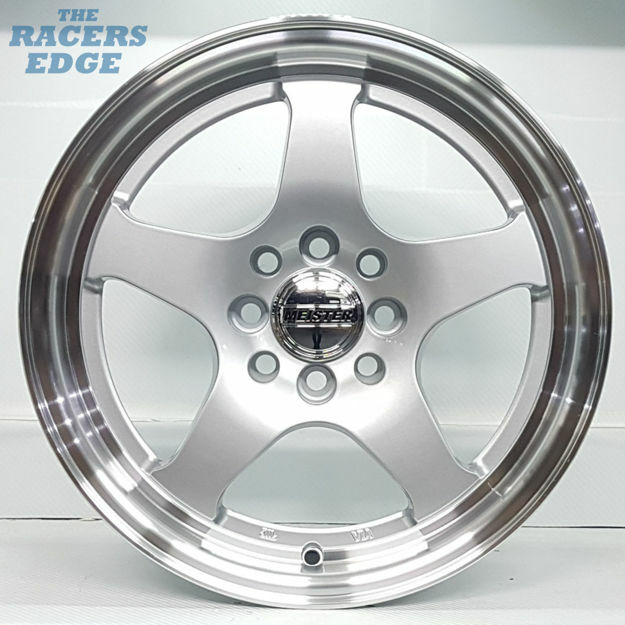 Picture of 15 inch Meister 066 - 4x100/108 - Silver