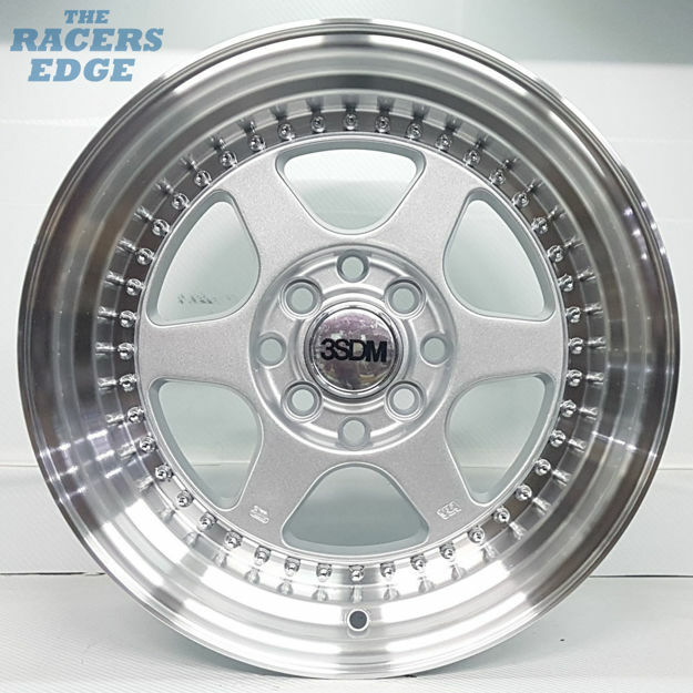 Picture of 15 inch Meister 6 Bar - 4x100/114 - Silver