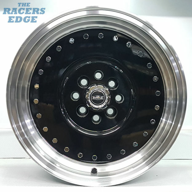 Picture of 15 inch CTM Muscle - 4x100/108 - Black