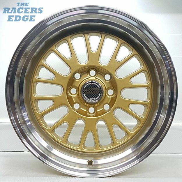 Picture of 15 inch Volk 134 - 4x100/114 - Gold