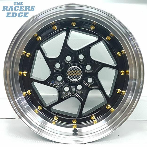 Picture of 15 inch Volk Racing Twist - 4x100/114 - Black