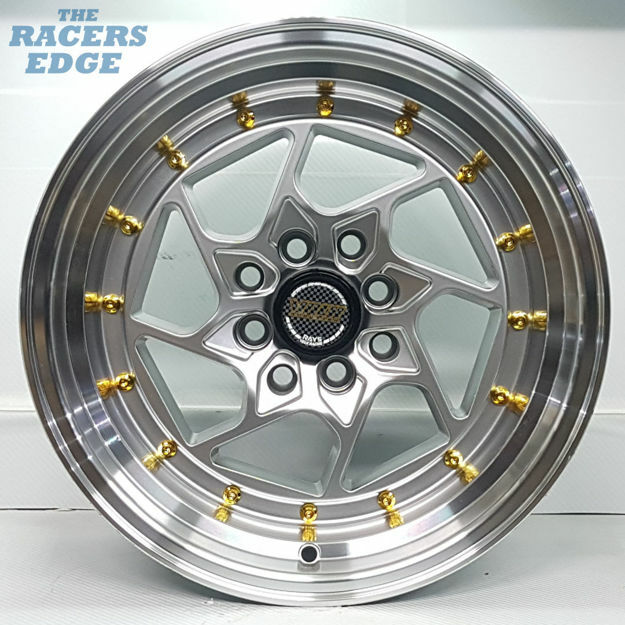 Picture of 15 inch Volk Racing Twist - 4x100/114 - Silver