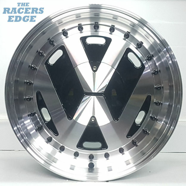 Picture of 15 inch VW Tinclip - 5x100 - Silver
