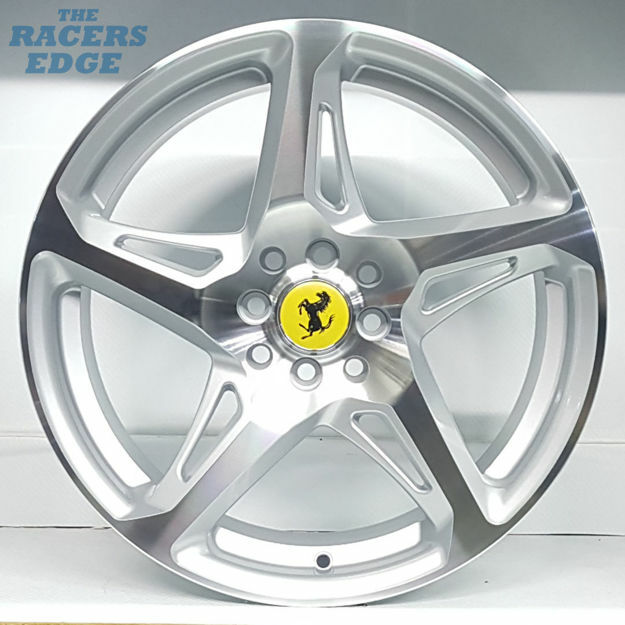 Picture of 17 inch 458 Reps - 4x100/114 - Silver