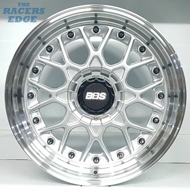 Picture of 17 inch BBS ESA Reps - 4x100/114 - Silver with Black Rivets