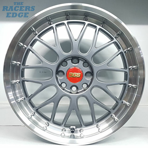 Picture of 17 inch BBS LM - 4x100/108 - Gunmetal