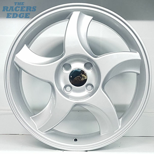 Picture of 17 inch Blades - 4x100 - Silver