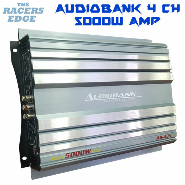 Picture of Audiobank 4 Channel Amplifier (5000W)