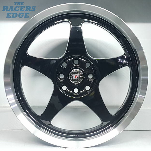 Picture of 17 inch Evolution Wheels - 4x100/114 - Black