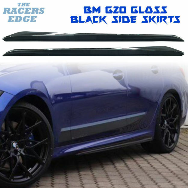 Picture of BM SG20 Performance Side Skirts - Gloss Black