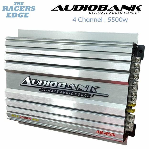Picture of Audiobank 4 Channel Amplifier (5500W)