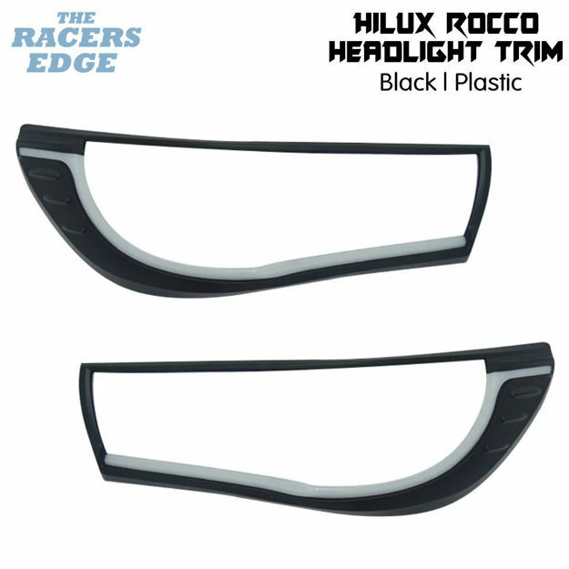 Picture of Toyota Hilux Rocco Non LED Headlight Trim (2018+)