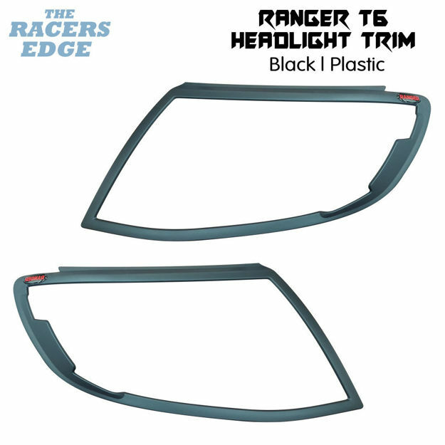 Picture of Ford Ranger T6 Headlight Trim - Black  - 2012'-2014'