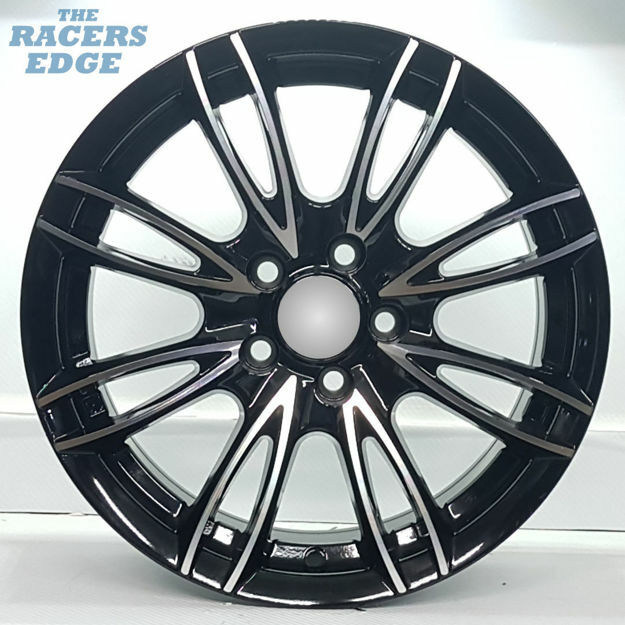 Picture of 15 inch R-Form 040 - 5x100 - Black