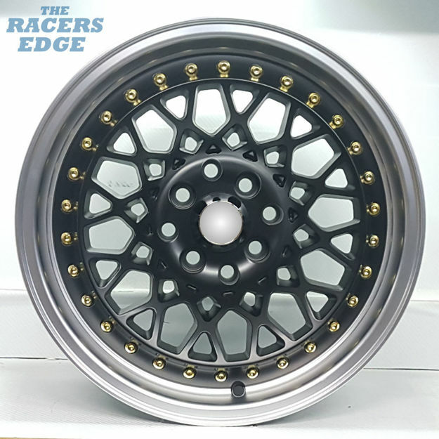 Picture of 15 inch R-Form MX667 - 4x100/114 - Matt Black
