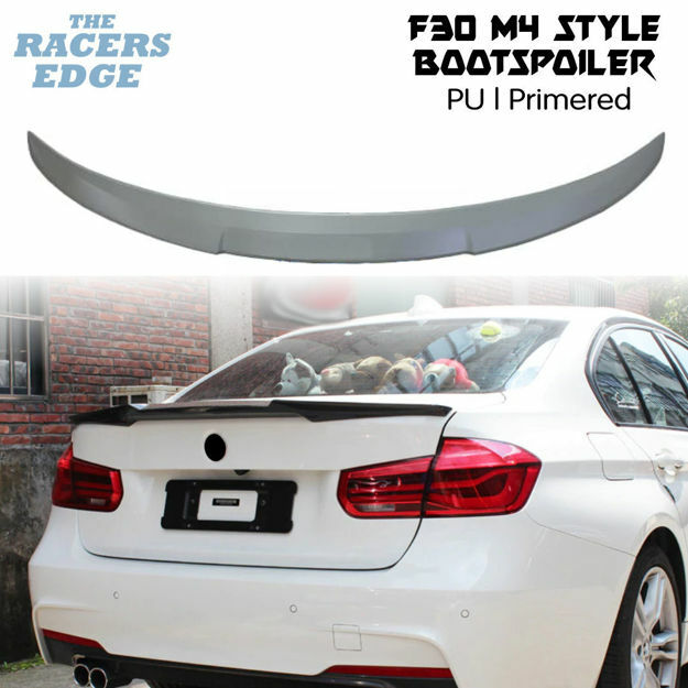 Picture of BM F30 M4 Style Boot Spoiler - PU - Primered