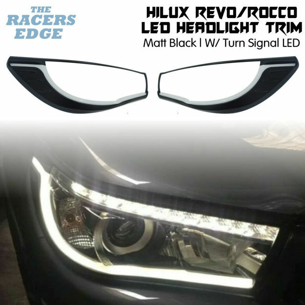 Picture of Toyota Revo/Rocco - W/ Sequence Signal LED Headlight Trim - 2015+