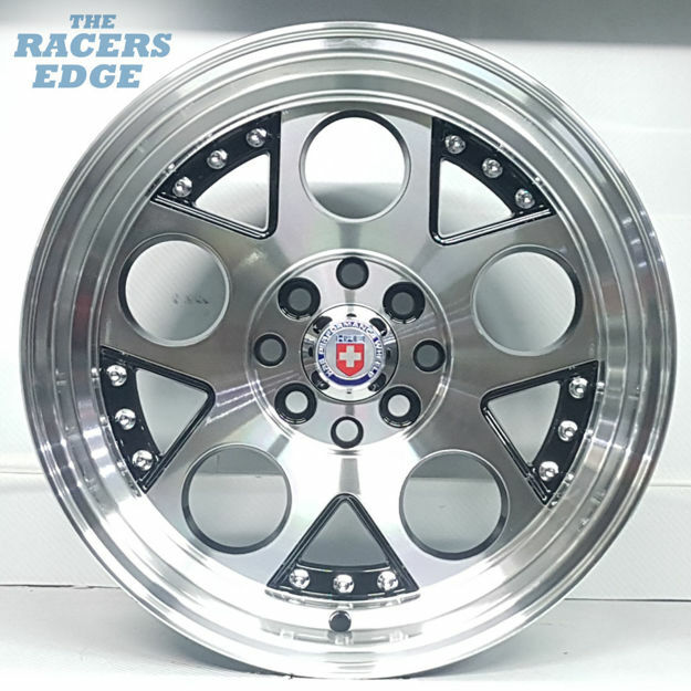 Picture of 15 inch HRE Lambo Reps - 4x100/108 - Black