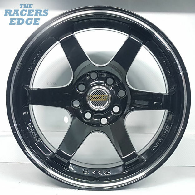 Picture of 15 inch Rays Eng TE37 - 4x100/114 - Gloss Black