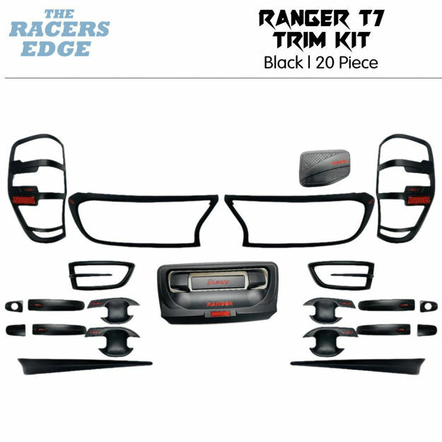 Picture of Ford Ranger T7 20pc Trim Kit - Black